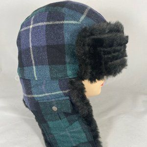 Woolrich Trapper Aviator Bomber Wool Plaid…